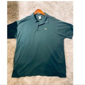 Lacoste Men's Polo Shirt Size 8 US 2XL green